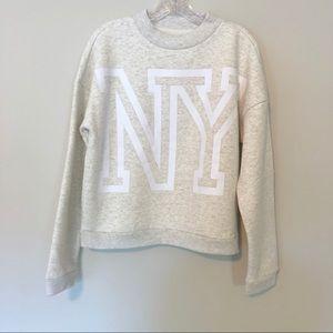 Aeropostale Tops - Aeropostale NY New York Crew Sweatshirt Gray NWT
